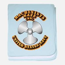 Navy - Rate - MM baby blanket