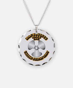 Navy - Rate - MM Necklace