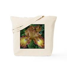 Yellow Rust Iris Tote Bag