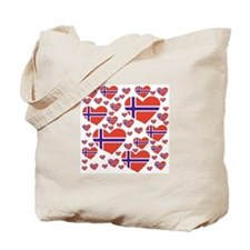 NorwayHearts Tote Bag