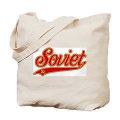Retro Soviet Tote Bag