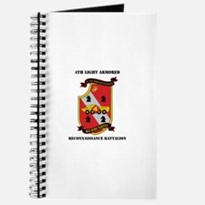 4th LAR Battalion with Text Journal
