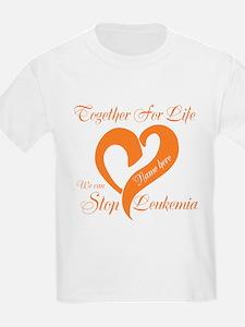 Personalize Leukemia T-Shirt
