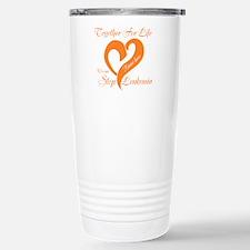 Personalize Leukemia Travel Mug