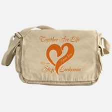 Personalize Leukemia Messenger Bag