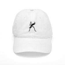 Hair Guitar Baseball Cap