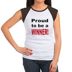 Proud Winner Women's Cap Sleeve T-Shirt