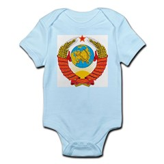 USSR Coat Of Arms Infant Creeper