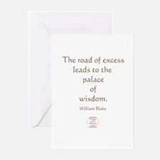 THE ROAD OF EXCESS Greeting Cards (Pk of 10)