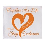 Leukemia Fleece Blankets