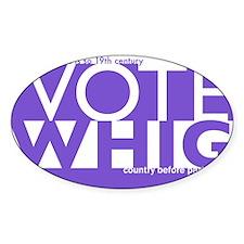 Vote Whig purple merged Decal