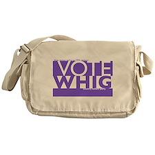 Vote Whig purple merged Messenger Bag