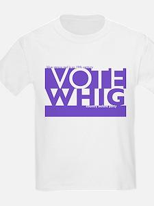 Vote Whig purple merged T-Shirt