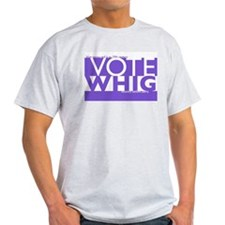 Vote Whig purple merged T-Shirt