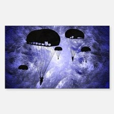 Harvest Moons Paratroopers Sticker (Rectangle)