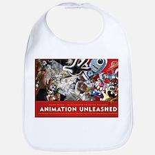 Animation Unleashed explosive illustration Bib