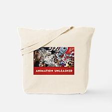 Animation Unleashed explosive illustration Tote Ba