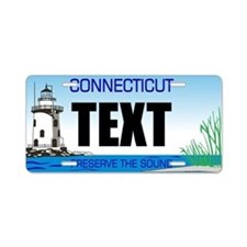 Connecticut Custom License Plate