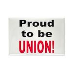 Proud Union Rectangle Magnet (10 pack)