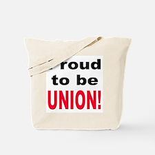 Proud Union Tote Bag