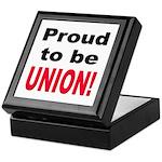 Proud Union Keepsake Box