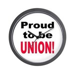 Proud Union Wall Clock
