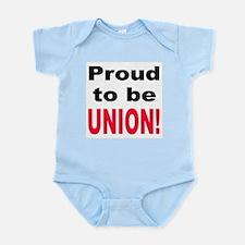Proud Union Infant Creeper