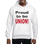Proud Union (Front) Hooded Sweatshirt