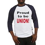 Proud Union (Front) Baseball Jersey