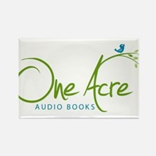 One Acre Audio Books Rectangle Magnet (100 pack)