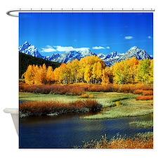 Fall Mountain Shower Curtain