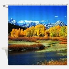 Fall Mountain Shower Curtain