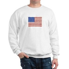 Watercolor USA Flag: Sweatshirt