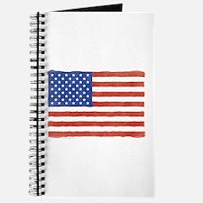 Watercolor USA Flag: Journal