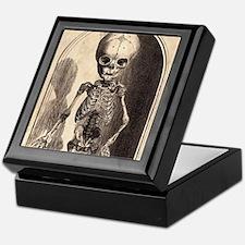 Skeletal Child Alcove Keepsake Box