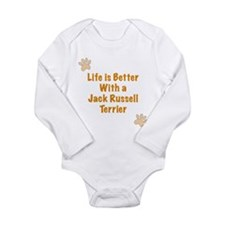 Life is better with a Jack Russell Terrier Long Sl