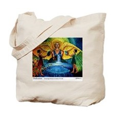 Cute Angel painting Tote Bag