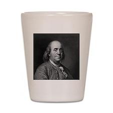 Ben Franklin An American Portrait.jpg Shot Glass