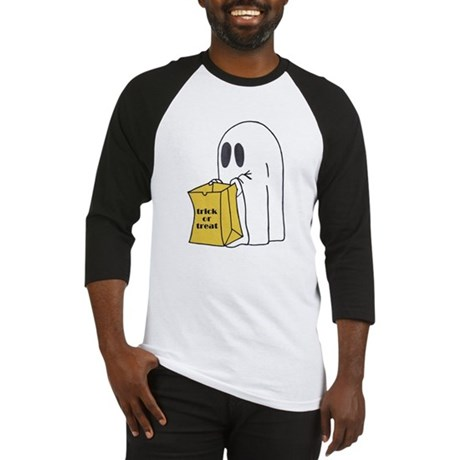 Trick or Treat Ghost Baseball Jersey