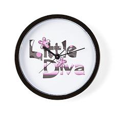 Little diva baby girl gift Wall Clock