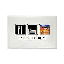 Eat. Sleep. Rum. Rectangle Magnet