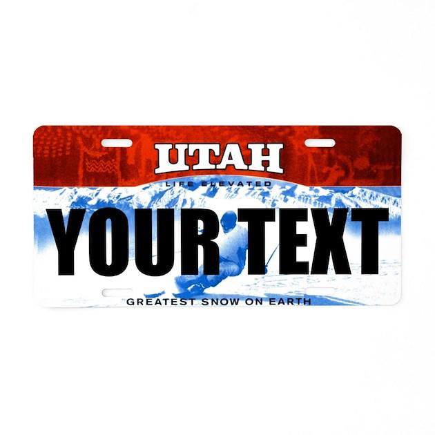 Cottage Kitchen Permit Utah: Utah Custom License Plate By Ranger275store