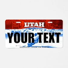 Utah Custom License Plate