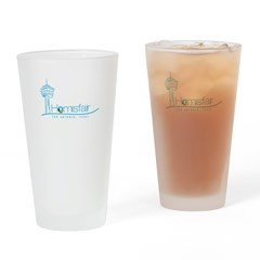 Hemisfair Swoosh Drinking Glass