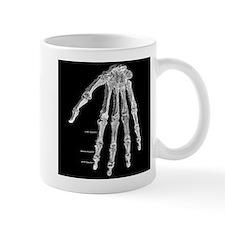 Skeleton hand Mug