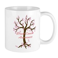 Breast Cancer Awareness Tree Mug