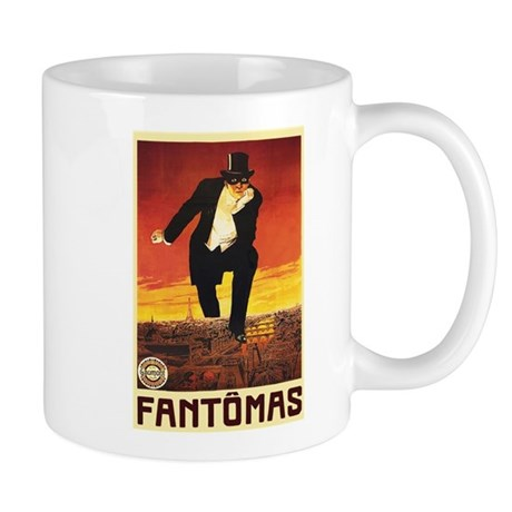 Fantomas 1913 Mug