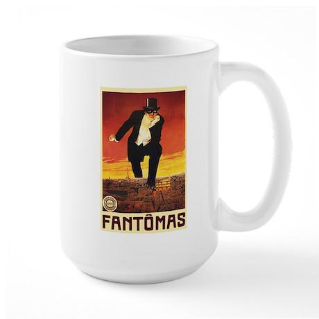Fantomas 1913 Large Mug
