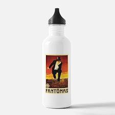 Fantomas 1913 Water Bottle