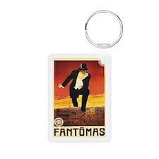 Fantomas 1913 Keychains